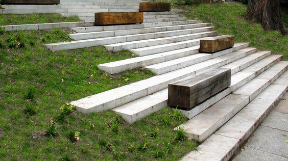 seats & steps #garden