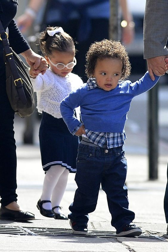 Mariah Careys twins Moroccan and Monroe a
