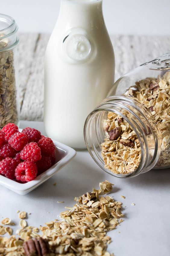 Simple Granola made with oats, pecans, and maple syrup. Breakfast is one of my favorite meals of the day. I don't know if I've ever skipped breakfast. I just don't function well without something in my belly. This maple pecan granola is my new favorite way to start the day. This granola will also be …