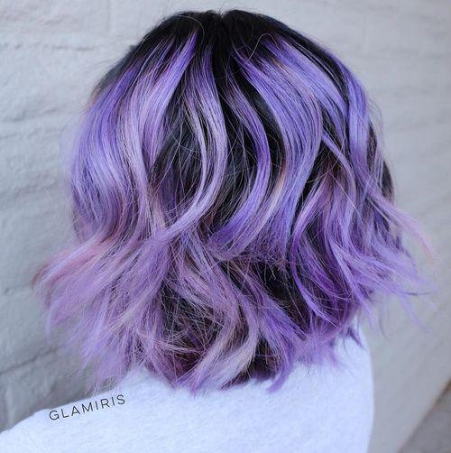 The Prettiest Pastel Purple Hair Ideas In 2020 Pastel Purple
