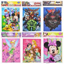 Licensed Character Hard-Cover Journals, 40 pgs.