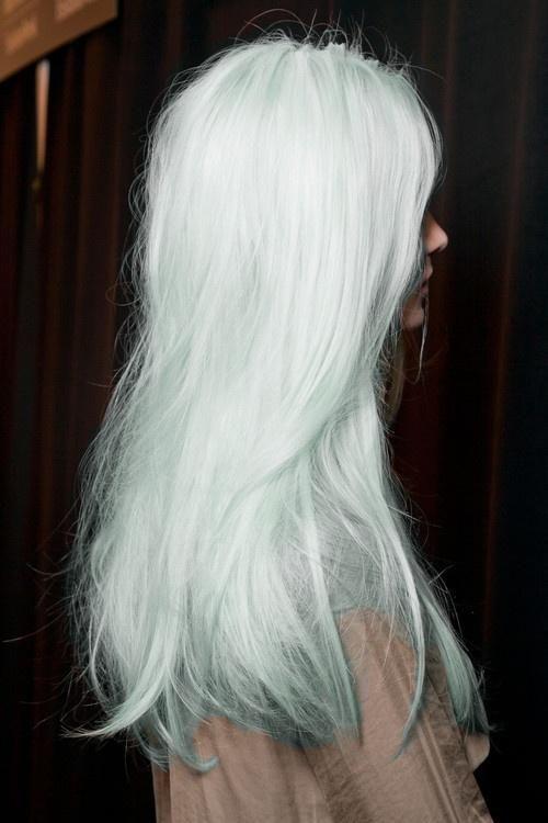 Light blue hair, Blue hair and Light blue on Pinterest