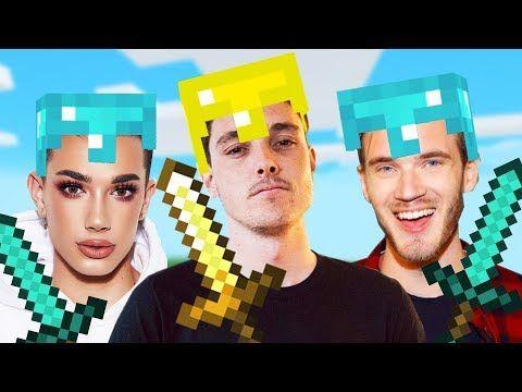 Video Minecraft With Pewdiepie James Charles Pewdiepie James Charles Charles