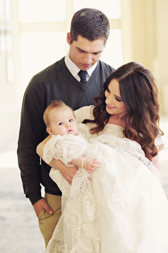 Personalized Royal Christening Gown from One Small Child