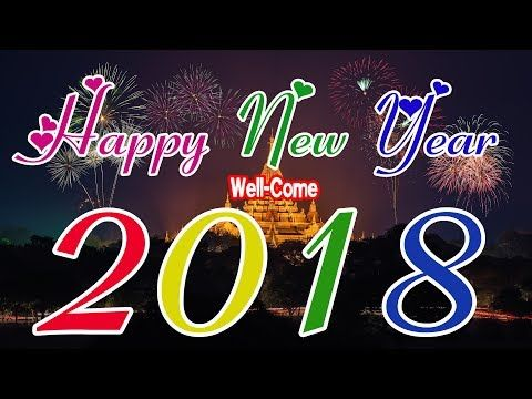 Happy New Year 2018 Hindi Whatsapp Video Youtube Adornos Navidenos Navideno Adornos