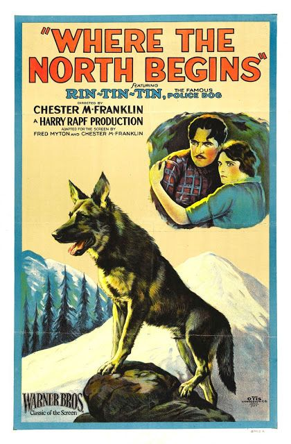 1923 Where the North Begins   ART & ARTISTS: Film Posters 1913 - 1929