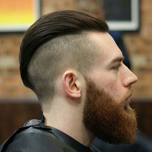 37 Cool Disconnected Undercut Haircuts For Men 2020 Guide Undercut Hairstyles Undercut With Beard Long Hair Styles Men