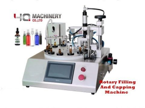 Tabletop Filler With Ceramic Pump For Vial Rotary Filling And