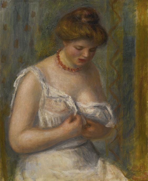 renoir, pierre-auguste femme en chem | figures | sotheby's n09498lot3zwm8en: