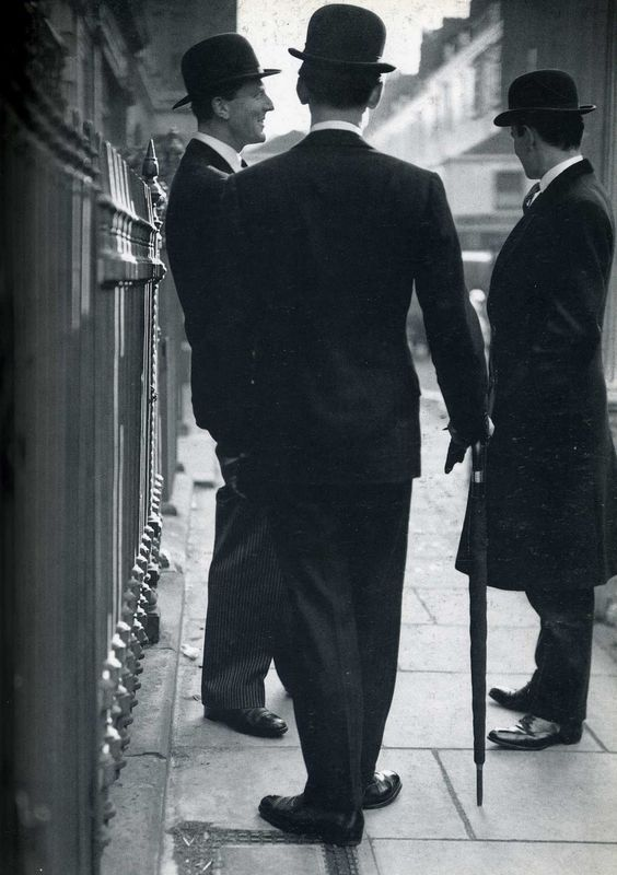 The New Mayfair Edwardians (Peter Coats; William Ackroyd; Mark Gilbey)  firsttimeuser:    Norman Parkinson. Career that spanned seven decades
