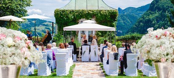 Hotel Schloss Münchstein*****S Salzburg - Top Hochzeits-Location Österreich #hochzeit #feiern #location #event #einzigartig #weiß #schwarz #heirat #österreich #special #wedding #unique #stunning #garden #love #hochzeitsfeier #salzburg