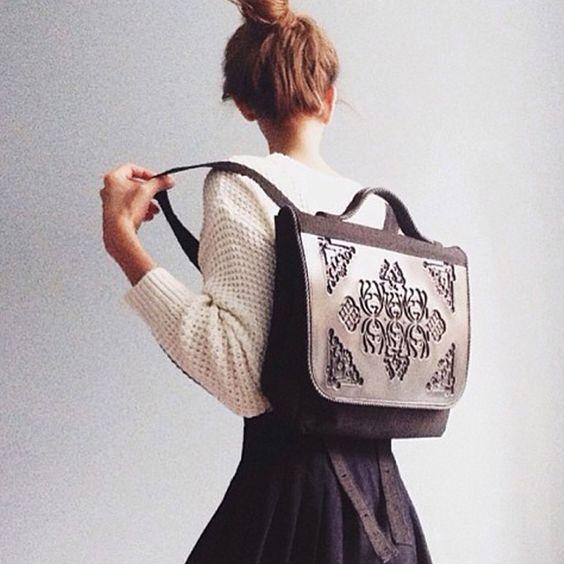 Poly Backpack - Black/Black