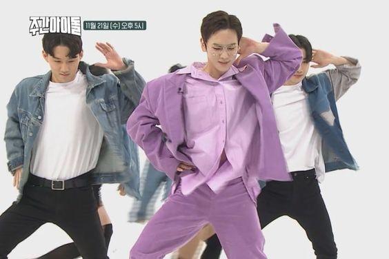 "Watch: SHINee's Key Flies Through Fun Dance Challenges On ""Weekly Idol"""