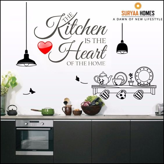 the kitchen is the #heartofthehome