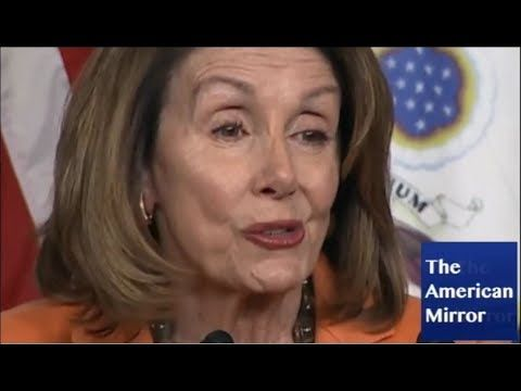 Video Pelosi Face Spasms Mar Speech Utters Gibberish Confuses Trillions And Billions The American Mirrorthe American Mirror Face Speech American