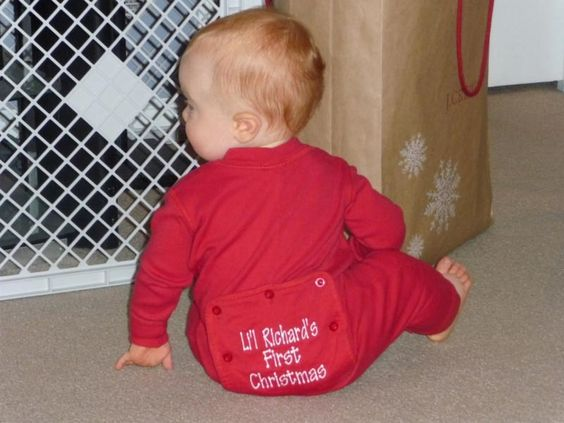 Baby First Christmas Pajamas (with image) · Tommypotter · Storify ...