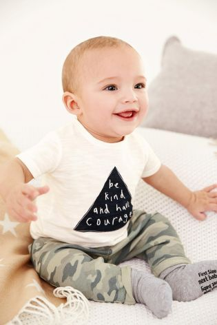 Buy Navy/White T-Shirts Two Pack (0mths-2yrs) online today at Next: Czech Republic
