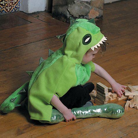Buy Travis Designs Green Dinosaur Dressing-Up Costume Online at johnlewis.com