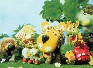 Started my love of herbs young with the children's TV series The Herbs