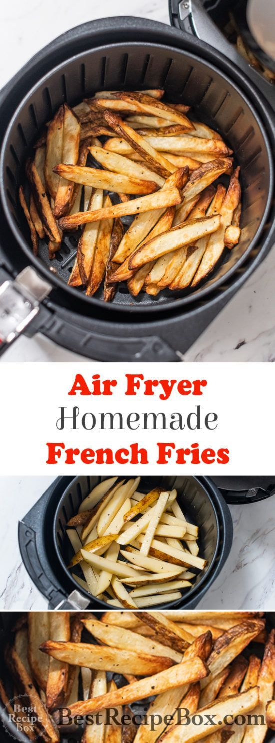 Air Fryer French Fries Recipe HOMEMADE, HEALTHY   Best Recipe Box ...