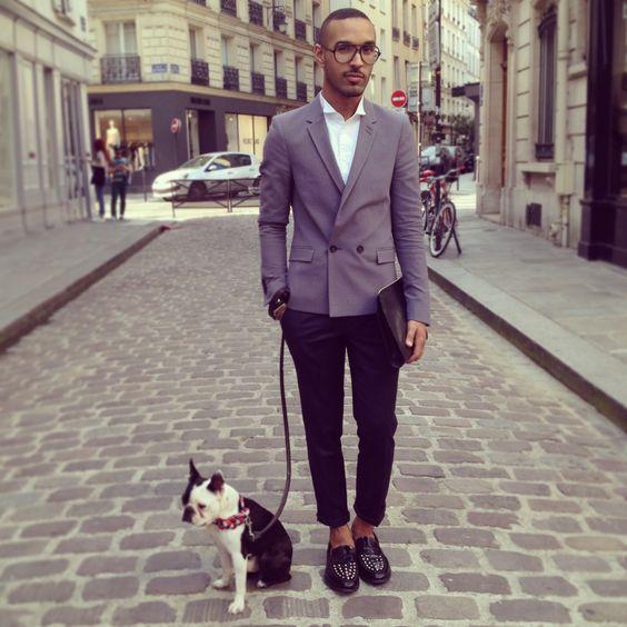 VR street fashion men style