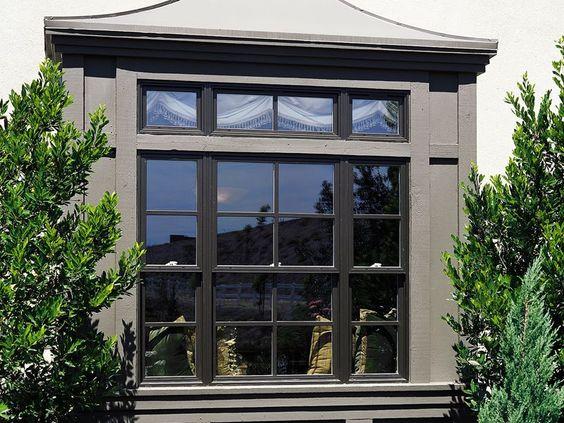 Milgard essence onyx exterior with true divided lites for Milgard energy efficient windows