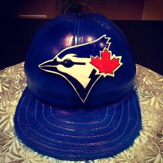 Blue Jays cake via Twitter @nilansperera http://twitter ...