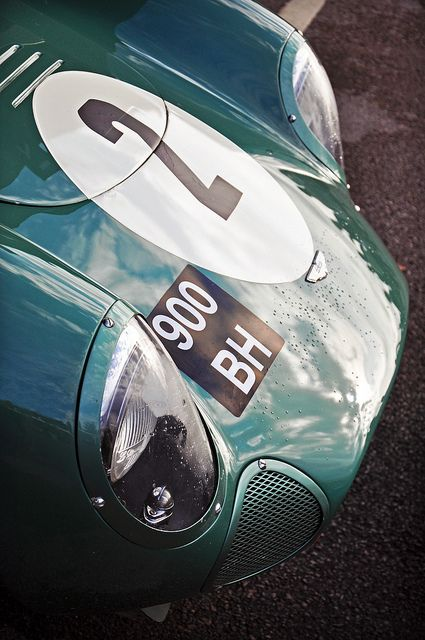 Wolfgang Friedrichs' 1959 Aston Martin DBR1 No.2 (detail) - 2011 Goodwood Revival (Explored) by rookdave, via Flickr