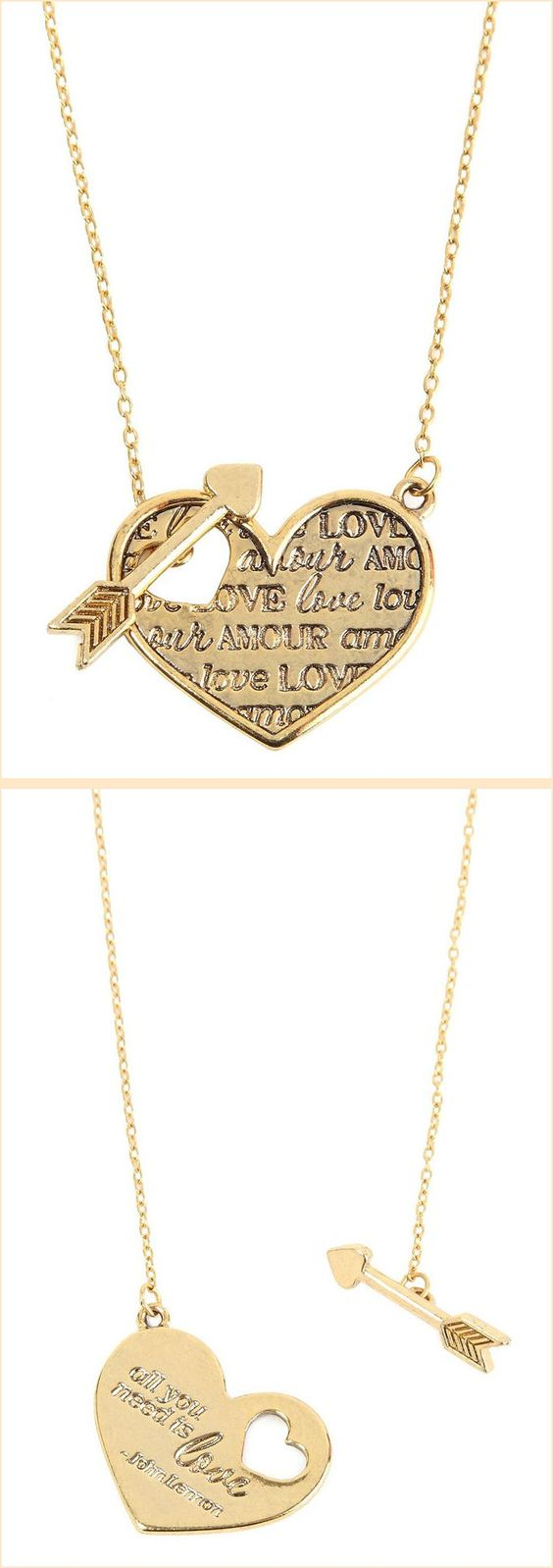 All You Need is Love Necklace ♥