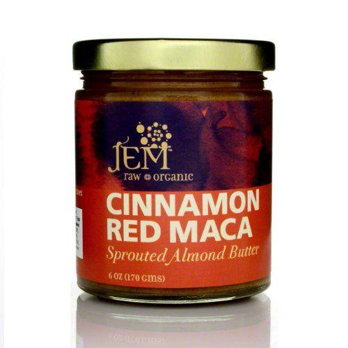 Organic Cinnamon Red Maca Almond Butter by Jem Raw Chocolate - http://mygourmetgifts.com/organic-cinnamon-red-maca-almond-butter-by-jem-raw-chocolate/
