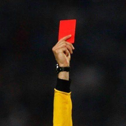 ME GUSTA Si te han sacado alguna vez tarjeta roja.