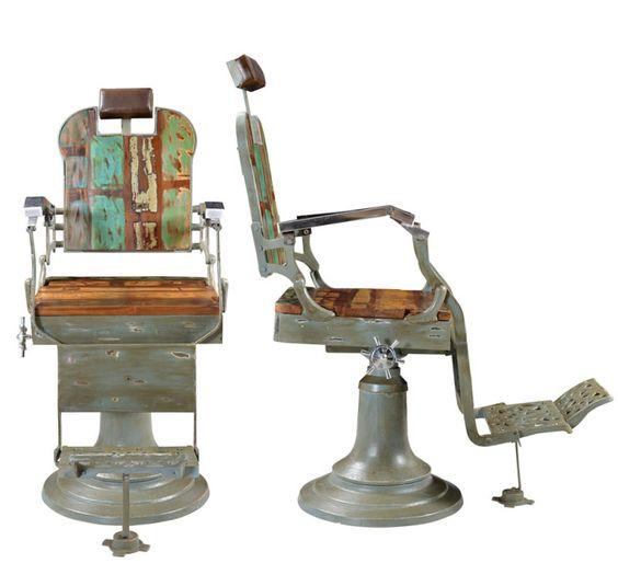 Barber's chair   Friseurstuhl