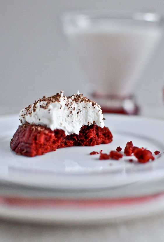 Red Velvet Thumbprint Cookies from How Sweet it Is.