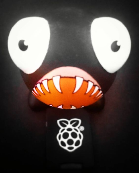 Something we loved from Instagram! Pi monster  #shark #raspberrypi by bimblekim Check us out http://bit.ly/1KyLetq