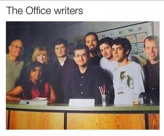 Lets Take A Moment To Appreciate 'the Office' Writers