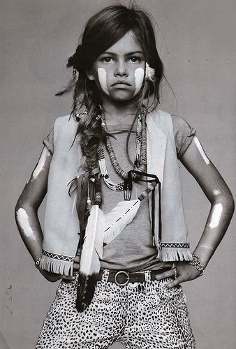 Indians and children...what's not to love?!