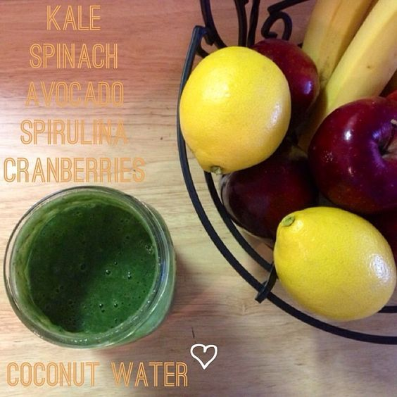 If you've never heard of spirulina, it's super high in B vitamins. B-vitamins help to maintain overall health of the body and especially benefit the nerves, liver, eyes, skin, and mouth. This is a truly powerful juice combination!
