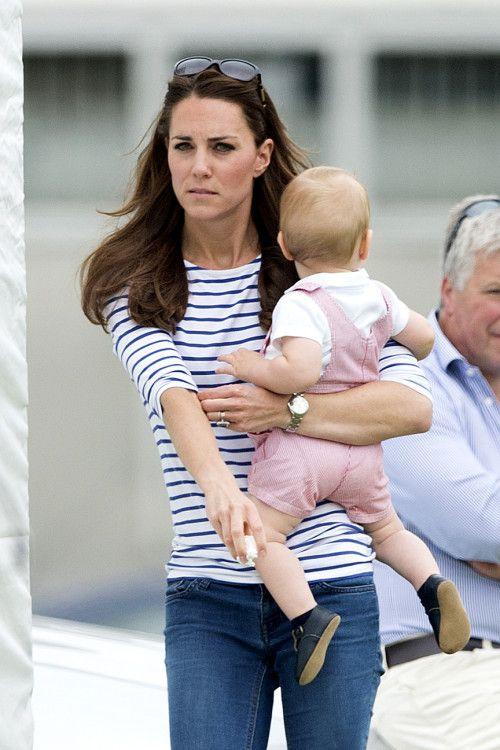 Kate und George beim Polo: Hier gibt es die Outfits zum Nachkaufen: http://catherine-middleton-style.blogspot.de/2015/06/kate-und-george-beim-polo-mit.html