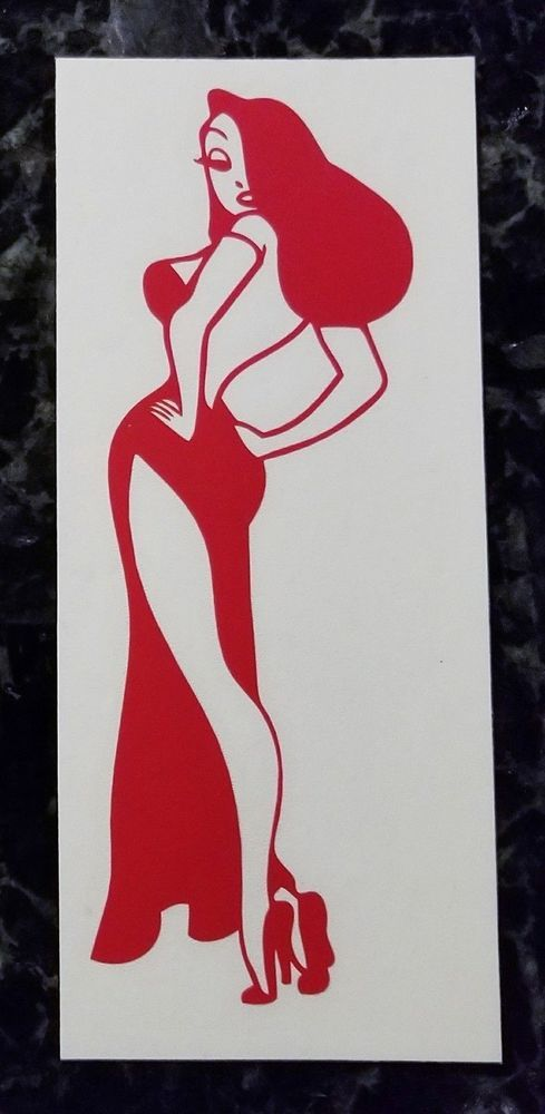 Roger Rabbit sticker VINYL DECAL Who Framed Jessica Rabbit