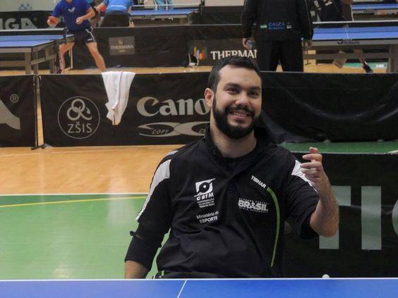 Guilherme Costa da Seleção  #Paralímpica de #Tênis de Mesa na expectativa pra #Rio2016. http://bit.ly/2bM57zB http://bit.ly/2bVRaTk