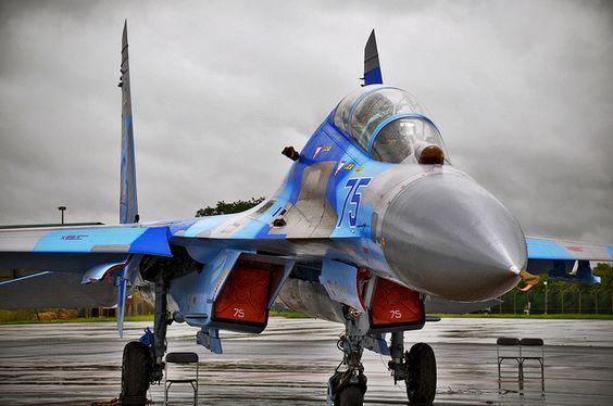 SU-27 Jet @ RIAT