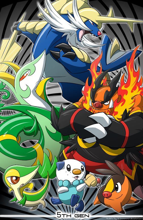Pokemon 5th Generation by Nicolette Ray *