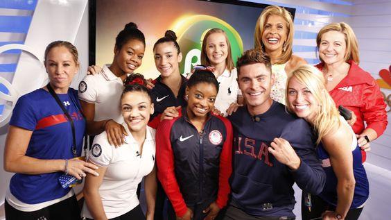 Zac Efron Talks About Meeting the U.S. Women's Gymnastics Team [Video]
