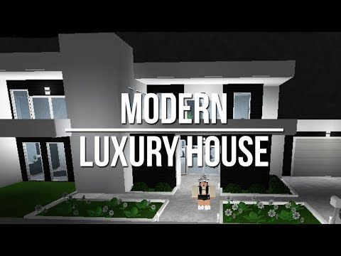 Roblox Welcome To Bloxburg Modern Luxury House 76k Youtube