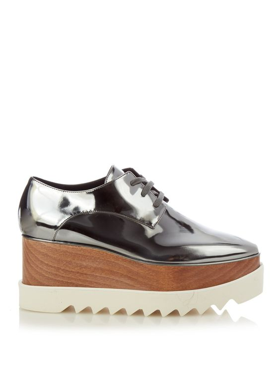 Elyse lace-up platform shoes by Stella McCartney | Shop now at ...