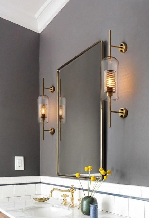 Milana Clear Glass Shade Sconces In 2020