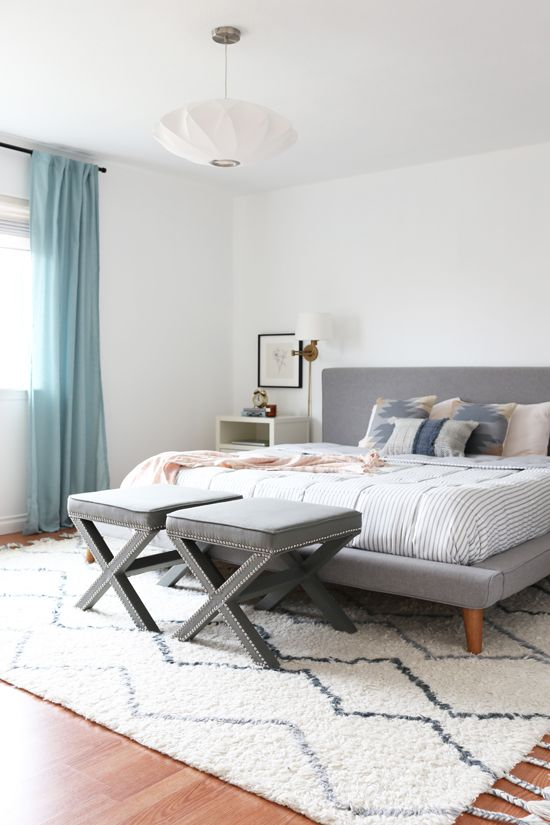 Our Master Bedroom West Coast Style At Home In Love Elegant Home Decor Budget Interior Design Home Decor Inspiration
