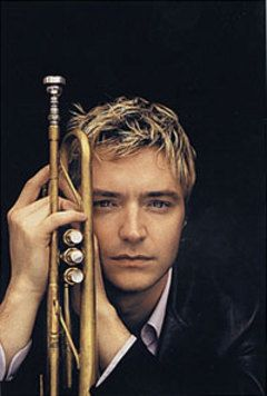 Chris Botti - very mellow/muted trumpet - Saw him at the Verizon Ampitheater in Irvine, CA