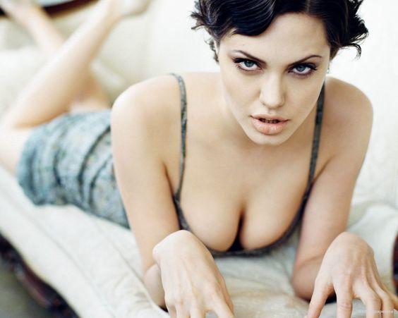 Angelina Jolie Short Hair Wallpaper 1280x1024 Photo 21651