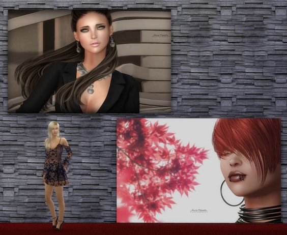 BABEL SIMS: TS4 Paintings: Aura Meads Fotografia Set N03 by Th...
